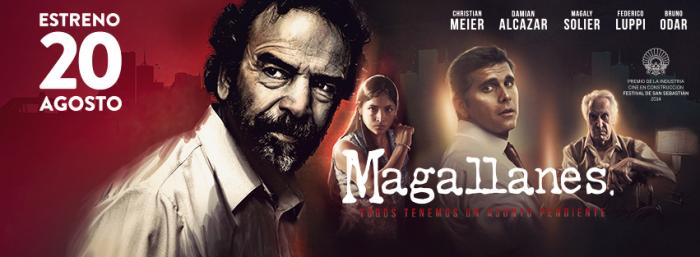 'Magallanes' será una de las películas que optan al Colón de Oro