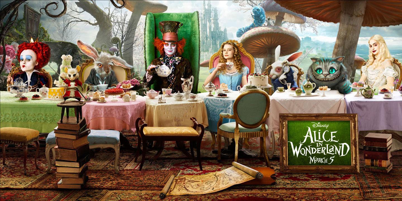 Para que no me olvide: Alice in worderland
