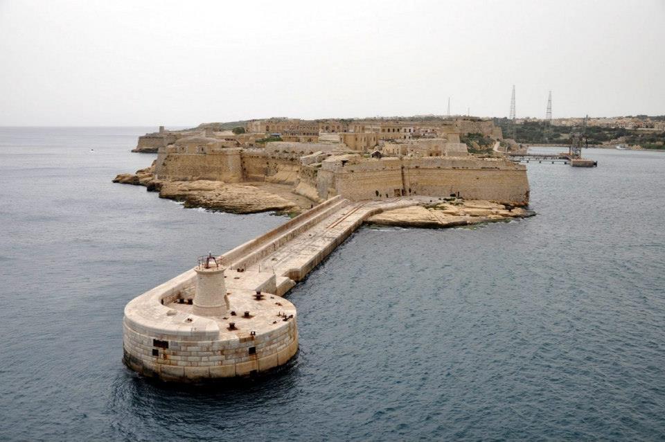 Uno de los escenarios de rodaje en Malta