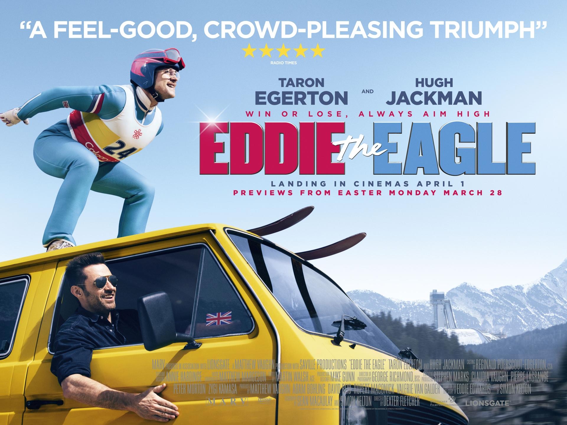 Eddie el águila', el héroe patoso