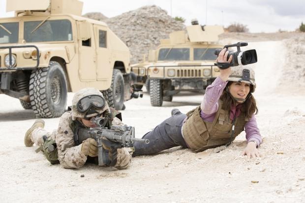 Kim y un soldado