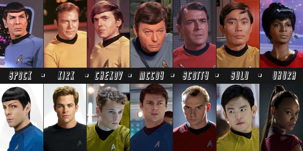 Actores de la serie original y de las nuevas películas
