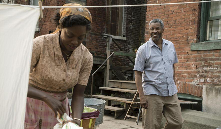 Viola Davis y Denzel Washington