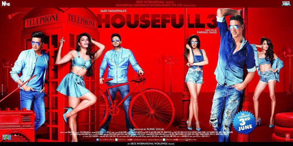 Poster Housefull 3